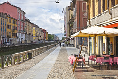 Navigli District in Milan (doveoggi) Tags: 9522 city italy lombardy milan naviglidistrict