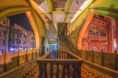 The Windows.. (jamessurajbarwa) Tags: hdr religious glow light niko lightighing shadows james wide angle kolkata barwa barrackpore architecture colours night window buildings architectural d5200 masjid masque suraj nakhoda