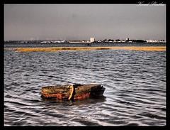 ...:::Subida de la marea:::.. (Koral Skatha) Tags: muelle mar agua azul ciudad marea