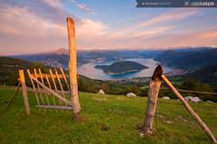 The Gate (MicheleRossettiClickalps) Tags: iseolake lakes italianlakes landscape sunrise sunrisephotograpy nikon clickalps cloud clouds traveldestination landmark