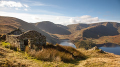 Old barn above Haweswater. (Tall Guy) Tags: tallguy uk lakedistrict cumbria haweswater oldcorpseroad