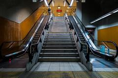 Estacion Juan Manuel de Rosas (martinviola) Tags: escalera street argentina estacin subte subway g1x