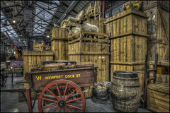 Swindon Steam Museum 13 (Darwinsgift) Tags: swindon steam museum great western railway hdr waxworks photomatix history trains nikon d810 multiple bracketed exposure