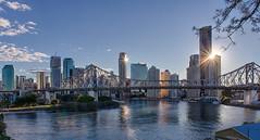 Late afternoon in Brisbane city (mudge.stephen) Tags: brisbane story bridge