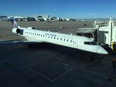 Halfway to my destination....but first a stopover in Denver (Hazboy) Tags: airport 2016 september vacation airplane plane express united denver hazboy1 hazboy