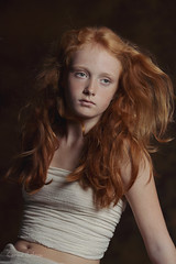 Jamie (carinebelzon) Tags: ifttt 500px girl hair wind redhead ginger red model face long childhood child