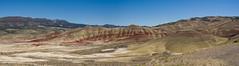 IMGP2871-Pano (rob_gendreau) Tags: johndayfossilbeds or paintedhills oregon unitedstates
