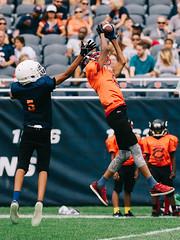 Touchdown! (Q Win) Tags: green team football high school touchdown touch down outdoor sport