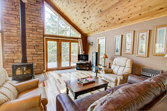 The Great Room. (jayklosinski) Tags: vacation rental northwoods snowmobiling skiing atv wisconsin michigan