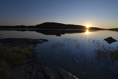 sunset on Grand Lake (2016) (Barbara A. White) Tags: algonquinpark grandlake sunset september 2016 naturepreserve ontario landscape