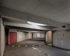 underground car park 2016 (chrisdb1) Tags: architecture archive artist blocks chrisdorleybrown cityscape composite dystopia east joiner knowledge landscape photorealism power public revolution street streetlife time phone municipal civic modern sports shop crossroads essex empty concrete asbestos harlow carpark