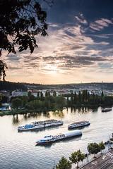 Moldava Sunset