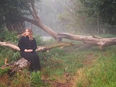 Lost in a fairytale (Oczyma Duszy) Tags: ania żona modelka piękna kobieta sesja portret suknia łąka mgła rzeka wodospad bystrzyca parkkrajobrazowy dolinabystrzycy jarnołtów czarnobiałe monochromatyczne bw blackwhite monochromatic wife woman lady plussize model session beauty portrait dress meadow mist fog river waterfall valleylandscapepark olympusepl5 mzuikodigital seksowna sexy