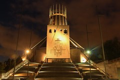 Liverpool Metropilithan Cathedral - After the sunset (NatuRHM) Tags: sunset cathedral churh liverpool england uk light colours architecture temple autofocus