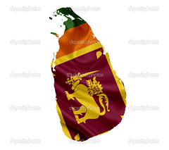 Map of Sri Lanka with waving flag isolated on white (mucciniale@gmail.com) Tags: administrative atlas backdrop background border boundary cartography chart color contour country cut destination detailed digital editable europe flag geography glossy grunge graphic graphical icon illustration isolated land language line map middle national official outline republic shape sign silhouette state symbol template tourism travel vector white vintage design image srilanka colombo waving