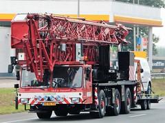 Mobile crane from Pluimers Holland (capelleaandenijssel) Tags: bd nl 93 netherlands truck trailer lorry camion lkw