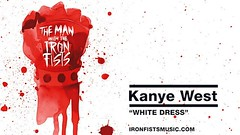 kanye west white dress full song man with the iron fist ost