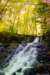 Fall-Colors-at-Jewells-Water-Fall-Portland-Maine (Captain Kimo) Tags: portland fallcolors main photomatixpro singleexposurehdr foreriversanctuary jewellfalls captainkimo tonecompessor