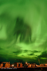 Wolf Shadow Aurora Borealis Abstract BUZ_5614 (Rezmutt) Tags: sky canada abstract nature night wow stars cool quebec awesome northernlights auroraborealis solarstorm waskaganish nordduqubec