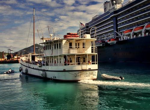 boats ships hal westy stthomas westerdam virginislands hollandamerica leylonsneed oysterboat crownbay