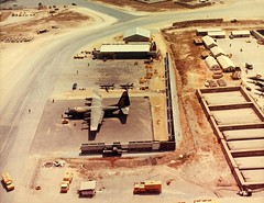 Vietnam War (San Diego Air & Space Museum Archives) Tags: airplane aircraft aviation lockheed hercules c130 militaryaviation vietnamwar c130hercules lockheedhercules lockheedc130 lockheedc130hercules 19651973 dc130 lockheeddc130hercules vietnambienhoaairbase lockheeddc130 dc130hercules