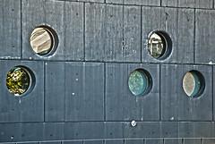 reflejos en la pared