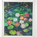 124. Original Oil Painting of Waterlilies