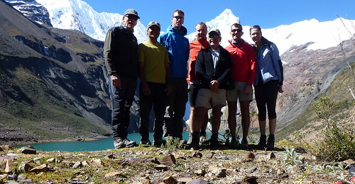 Our Group of 6 + Raoul our Mountain Guide