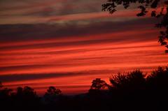 sailor's delight (Christopher Wallace) Tags: trees sunset red sky beautiful clouds geotagged virginia nikon pretty sundown dusk gorgeous va sillhouette vr blacksburg southwestvirginia 18200mm newrivervalley d7000