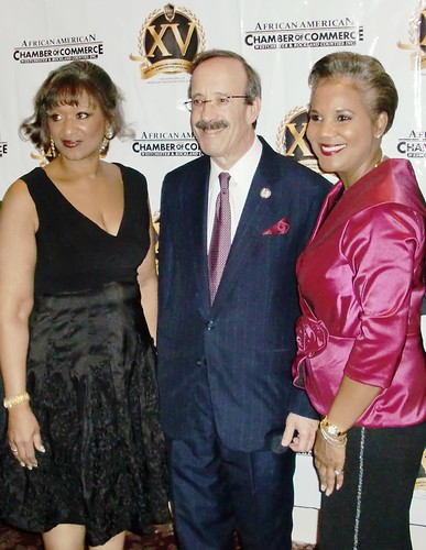 Rep Engel with the African American Chamber - oct 2011