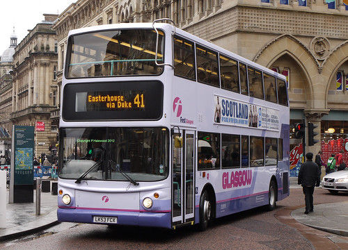 First Glasgow 33351 (LK53FCX) - a photo on Flickriver