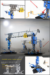 KUNDE CAPITAL GANTRY (Pierre E Fieschi) Tags: art yard construction lego pierre capital micro spaceship concept homeworld naval assembly gantry microspace fieschi microspcaetopia