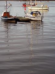 Conway 46 Oct 3 2010 (DizDiz) Tags: uk autumn wales boats estuary olympusc720uz