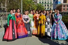 Hanbok Fashion Show - 20th Annual Korean Day Cultural Festival (--Mark--) Tags: sf sanfrancisco korea unionsquare 2012 koreanfestival  canonef2470mmf28l 20thannualkoreandayculturalfestival koreanculturalfestival