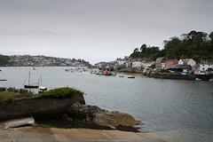 Fowey, Cornualles (Inglaterra) (Fernando Espáriz) Tags: inglaterra río bay cornwall barcos playa somerset viajes barcas turismo fowey bahía estuario cornualles