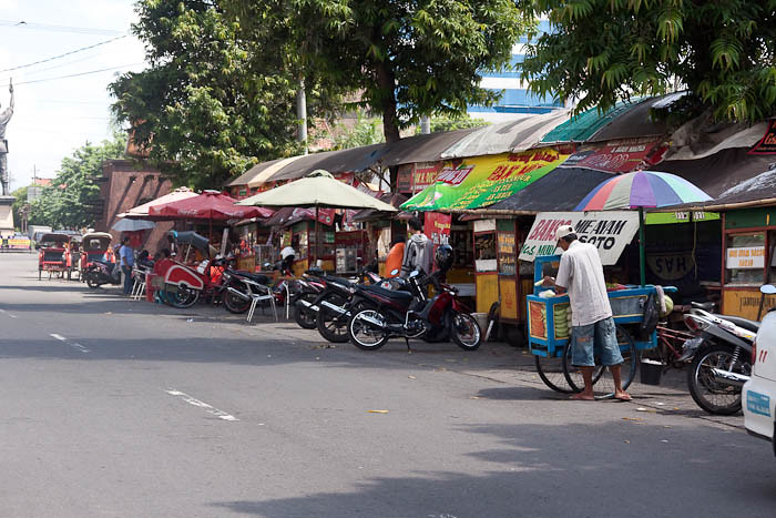 Streetfood, Solo, Central Java, Indonesia