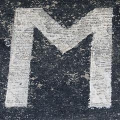 letter M (Leo Reynolds) Tags: canon eos iso100 m mmm 7d letter f56 oneletter 53mm 0008sec hpexif grouponeletter xsquarex xleol30x xxx2012xxx