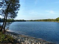 Hullerner Stausee (joeke pieters) Tags: lake nature germany deutschland meer duitsland haltern hullernerstausee 1020948 panasonicdmcfz150