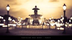 Fontaine des Mers - Paris (Beboy_photographies) Tags: paris france lens place shift 45 concorde mm tilt fontaine 45mm tse placedelaconcorde tiltshift mers bokey fontainedesmers