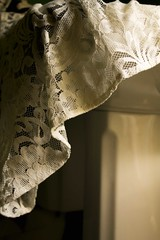white (Amelia O. Morgan) Tags: sepia sink lace gloom