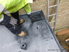 EPDM rubber roof northwood 6