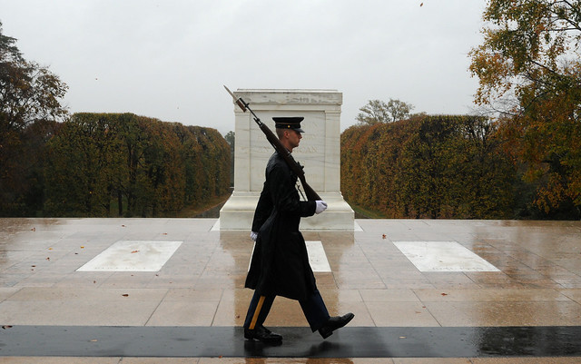 Tomb Sentinels brave Hurricane Sandy [Image 1 of 3]