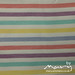 Vintage pillowcase - stripes