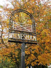 Witnesham Village Sign (The original SimonB) Tags: sign suffolk october samsung 2012 villagesign witnesham autumnul wb690