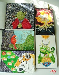 My Journals : Sky Collection (Milagritos9) Tags: sky illustration stars yoda handmade tiger sketchbook visualjournal jaguar watercolours cosmos sueo symbolism williamblake birdportrait journalpages mily artistjournal starwarscharacter milagritos birdillustration cardinalbird illustratedjournal moleskineproject artmoleskine moleskineartwork birdjournal inspirationaljournal dragonillustration moleskinecollection milycha spiritualjournal dreamsjournal moleskineartpages moleskine2012 alchemyjournalmoleskine universeillustration zintagle