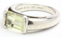1037. Sterling Silver and Quartz Ring, Tiffany & Co.