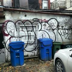 IMG_20121102_144950 (Into Space!) Tags: street urban toronto canada graffiti photo alley graff bombing throw fill wiz ftw fillin throwie intospace yaboi intospaces