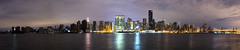 Manhattan without power after Sandy (high res) (Nick Mulcock) Tags: park new york city nyc newyorkcity light black tower water skyline brooklyn canon out subway ed island high flooding long