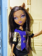 Belva fashion (Eilantha DamaIndaco) Tags: werewolf wolf doll playset figlia deadtired fashiondolls lupomannaro deianira clawdeen monsterhigh uratha aroomtohowl