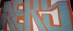REKS by REKON (OLDER SC COUNTY GRAFFITI) Tags: california santa county ca sc creek graffiti am ben tag tags boulder cruz vandalism felton graff bomb anonymous tagging bombing doa kon 831 lomand reks amk rekon graffaholicz